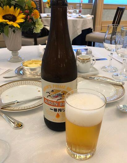 アメックスの東京花火大祭のビール
