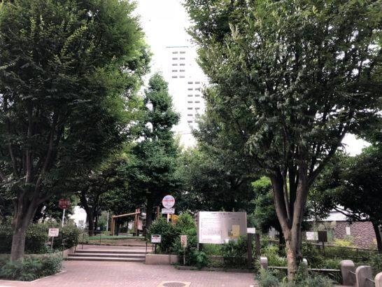 新宿の花園公園