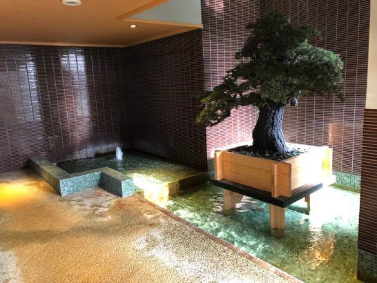 神戸ベイシェラトンホテルの大浴場