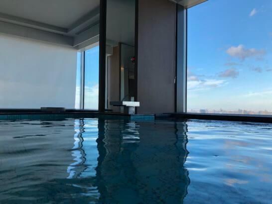 ザ・プリンスギャラリー 東京紀尾井町,ラグジュアリーコレクションホテルの大浴場