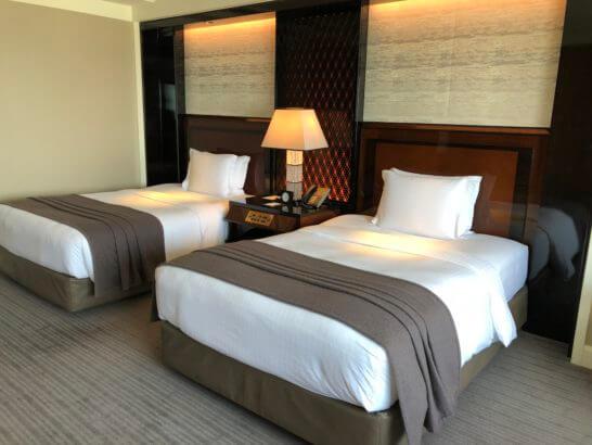 ザ・リッツ・カールトン東京のベッド