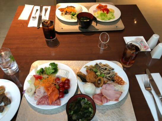 コートヤード・マリオット銀座東武ホテルの朝食