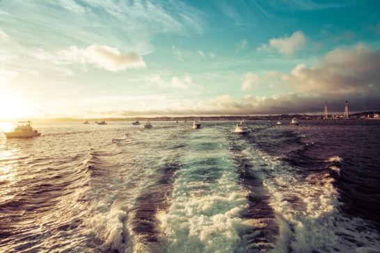 沖縄の宜野湾マリーナ