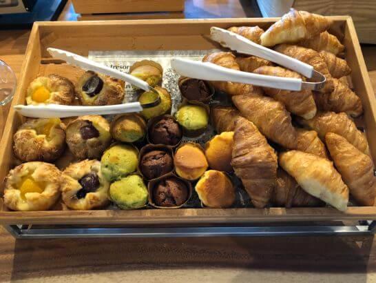 伊豆マリオットホテル修善寺の朝食のパン