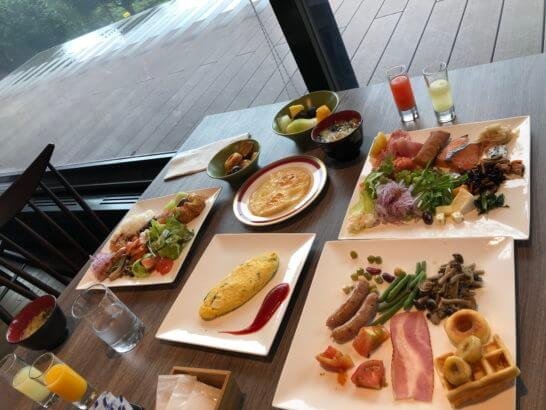 伊豆マリオットホテル修善寺の朝食