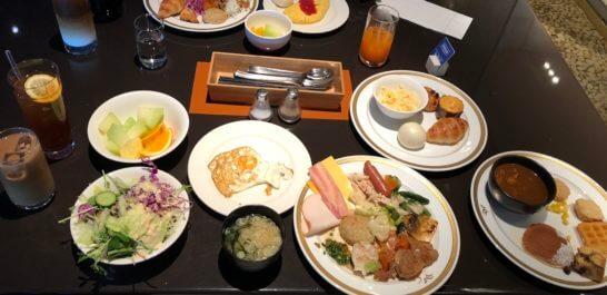 ヒルトン東京ベイの朝食ビュッフェ