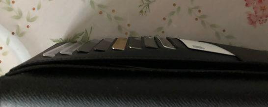 30代独身男性の財布の中身(右半分)