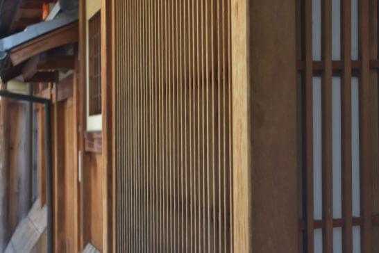 日本家屋の格子