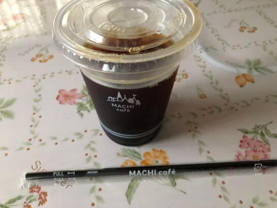 ローソンのアイスコーヒー(M)