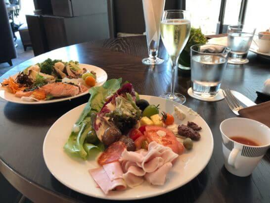 フォーシーズンズホテル丸の内 東京のランチビュッフェの前菜