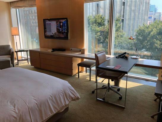 フォーシーズンズホテル東京のツインルーム
