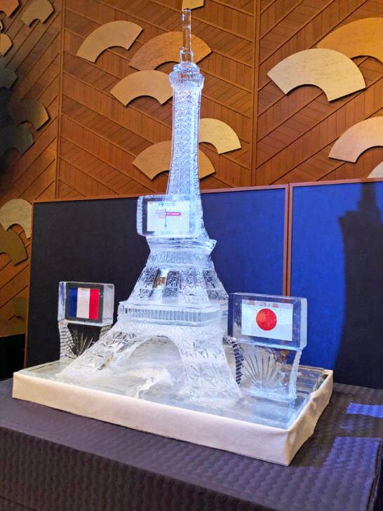 エッフェル塔の模型
