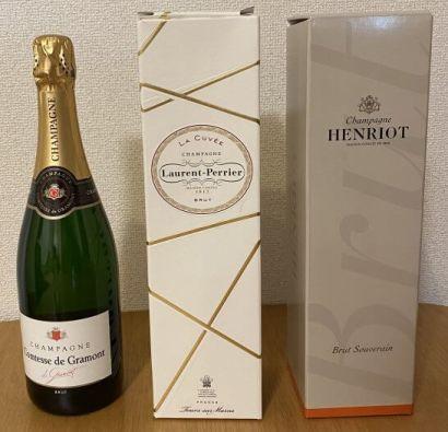 うきうきワインの玉手箱のシャンパンセット