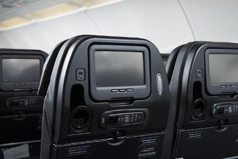 スターフライヤーの座席のモニター