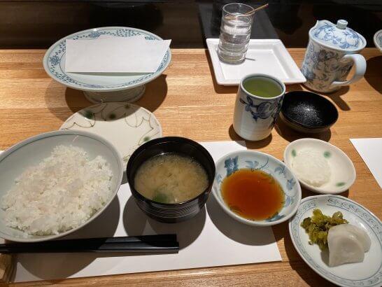 ルミネの天ぷら新宿つな八のランチ海老天ぷら膳