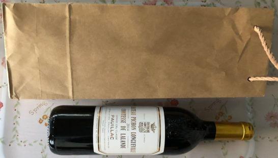 ビックカメラで買った赤ワイン