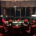 Wホテル台北の中華レストランの個室