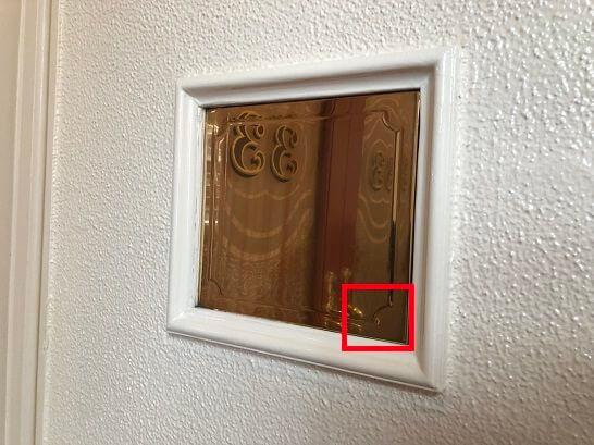 クラブ33のインターフォンのドア