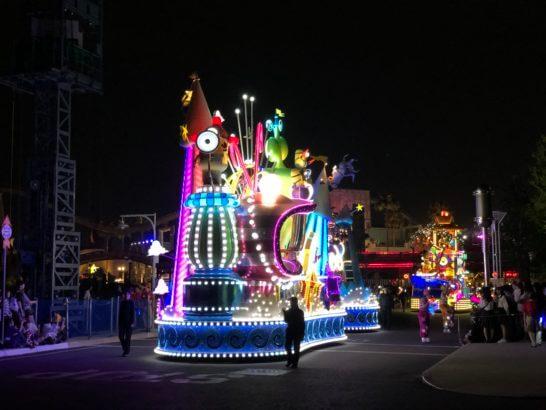 USJのナイトパレード