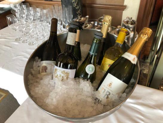 ウェスティンホテル東京のビクターズのランチワイン