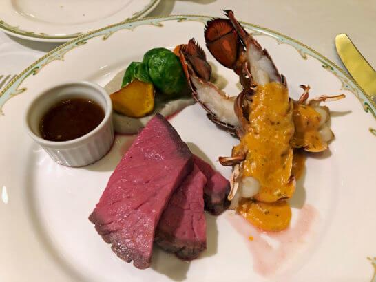 東京ディズニーシーのSSコロンビア号の夕食