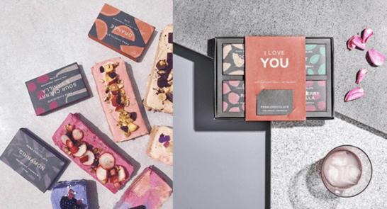 PANA CHOCOLATEのチョコとギフトボックス