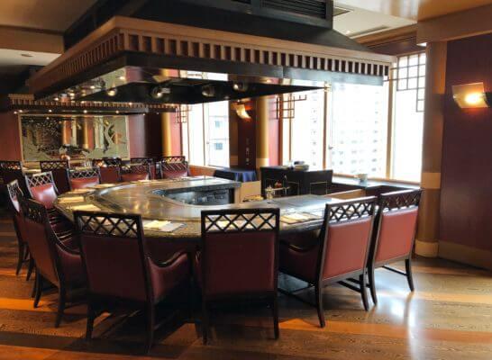 ウェスティンホテル東京の鉄板焼 恵比寿の室内 (2)