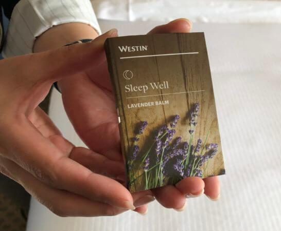 ウェスティンホテル東京のラベンダーパーム