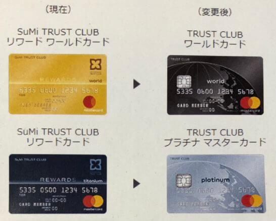 SuMi TRUST CLUBのMastercardのリニューアル