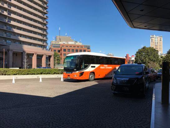 ウェスティンホテル東京から出発するリムジンバス