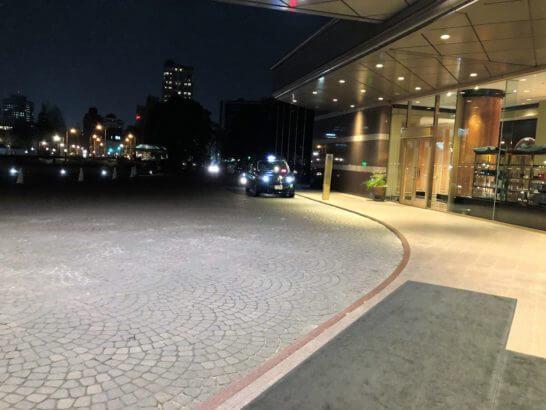 ウェスティンホテル東京の入り口