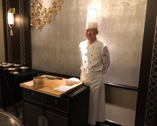 中国料理 龍天門の料理長 和栗さん