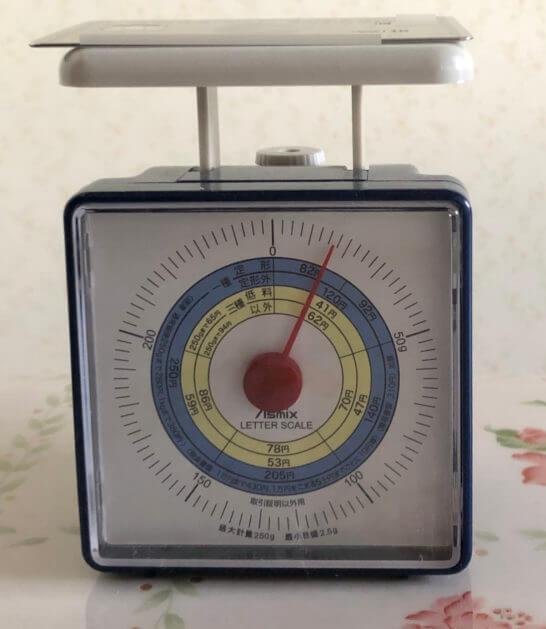 アメックスビジネスプラチナのメタルカードの重量は約17g