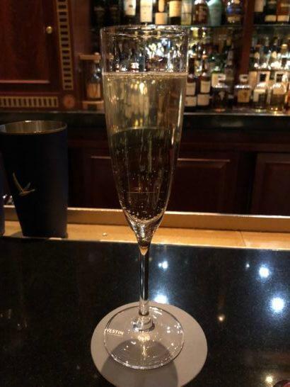 ウェスティンホテル東京のThe Barのスパークリングワイン