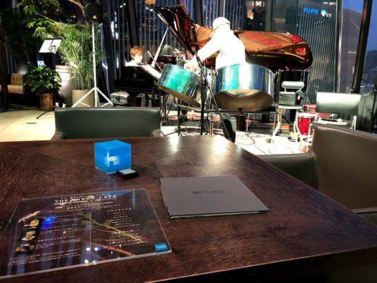 アメックスの銀座カフェのジャズ生演奏