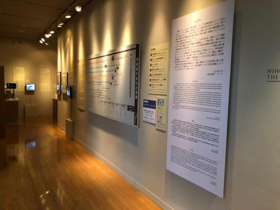 国立映画アーカイブ7F展示室に入ったところ