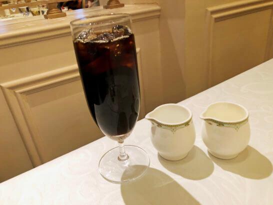 東京ディズニーシーS.S.コロンビアのアイスコーヒー