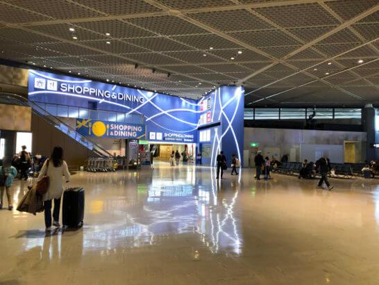 成田空港国際線第1ターミナル