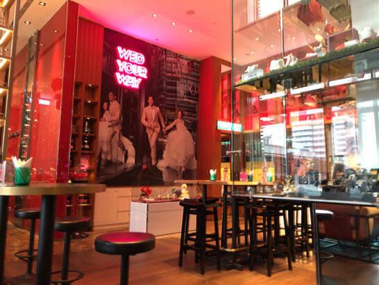 Wホテル台北のカフェ・バー