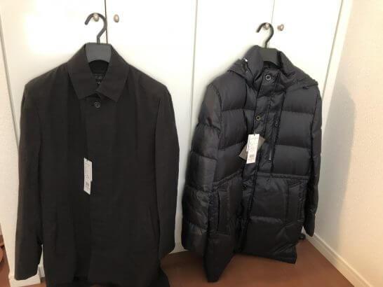 セブン&アイグループのオムニセブン(西武百貨店)で購入したコート2着