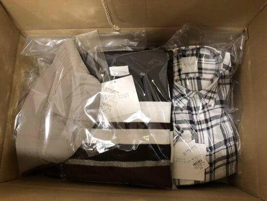 セブン&アイグループのオムニセブン(西武百貨店)で購入した服 (1)