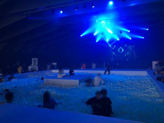 アメックス花火大会2019 HANAVIVAのボールプール