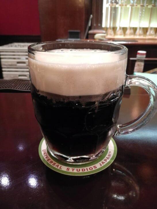 USJのレストランで飲んだ黒ビール