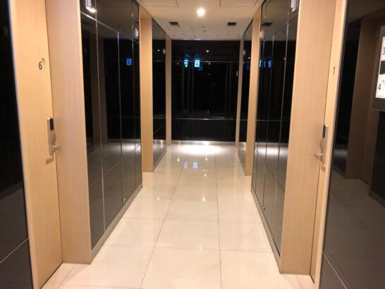 ANAラウンジ(羽田空港国際線)のシャワールーム