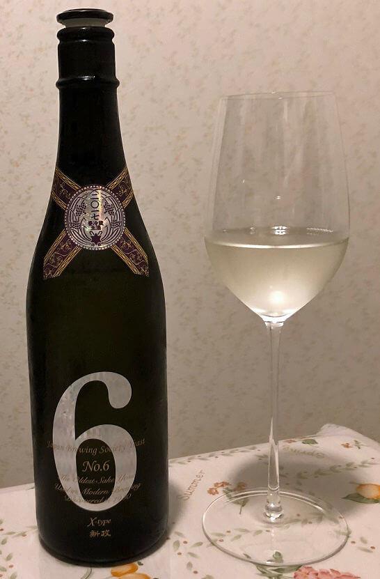 新政酒造のNo.6 X-Type