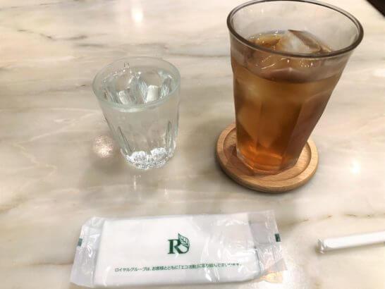カフェ ウィーン 三越日本橋店のキームンアイスティー