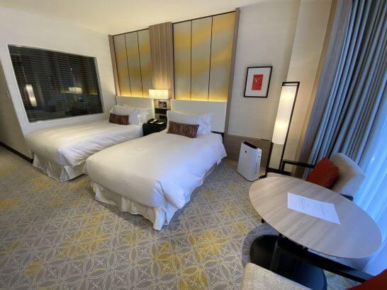 シェラトン都ホテル東京のエグゼクティブ・ツインルーム