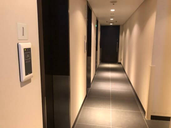 羽田空港ダイヤモンドプレミアラウンジ(北ウイング)のシャワールーム