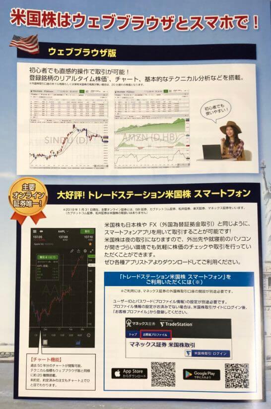 マネックス証券の米国株ツール