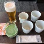 ANAラウンジ 羽田空港国内線(本館南)のビール・日本酒・おつまみ・青汁